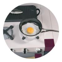 Кафе Юбилейное - иконка «кухня» в Агане